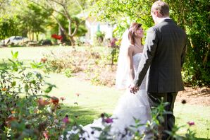 Britini and Dustin's Wedding at Little House Crafts & Candles