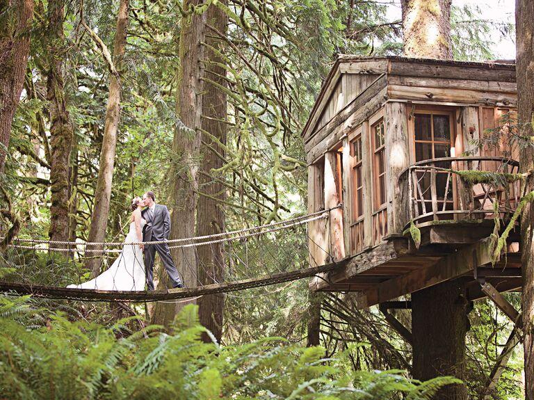 Treehouse Point In Fall City Wa Amanda Lloyd Weddings