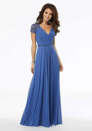 MGNY 72106 Black Mother Of The Bride Dress