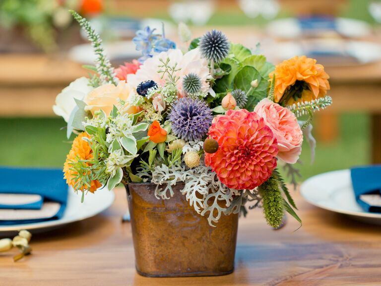 Wedding centerpiece styles and ideas