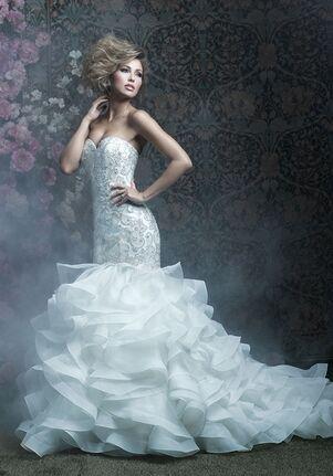 Allure Couture C410 Mermaid Wedding Dress