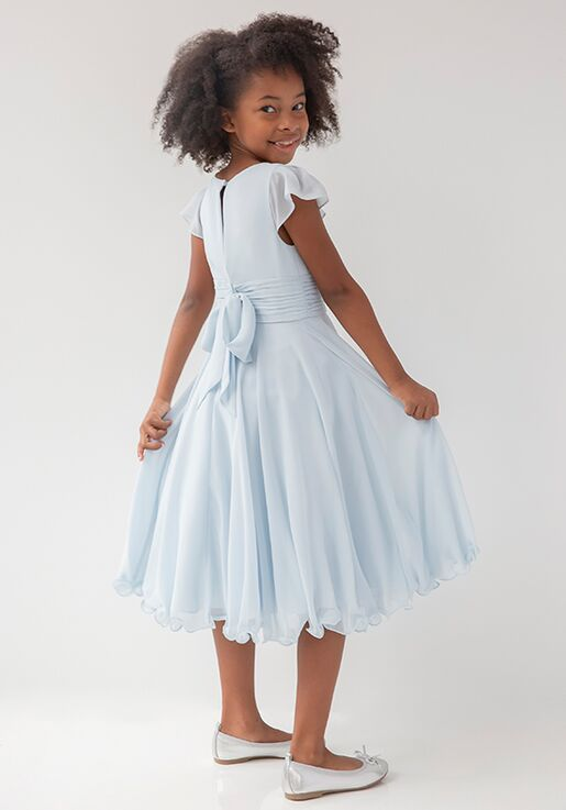 La Petite by Hayley Paige 5927-Piper Black Flower Girl Dress
