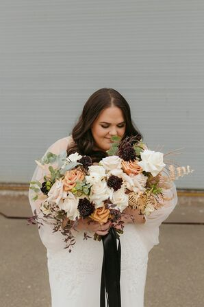 Bridal Bouquet for Wedding at Metropolist in Seattle, Washington