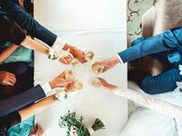 wedding toast how to stay sober