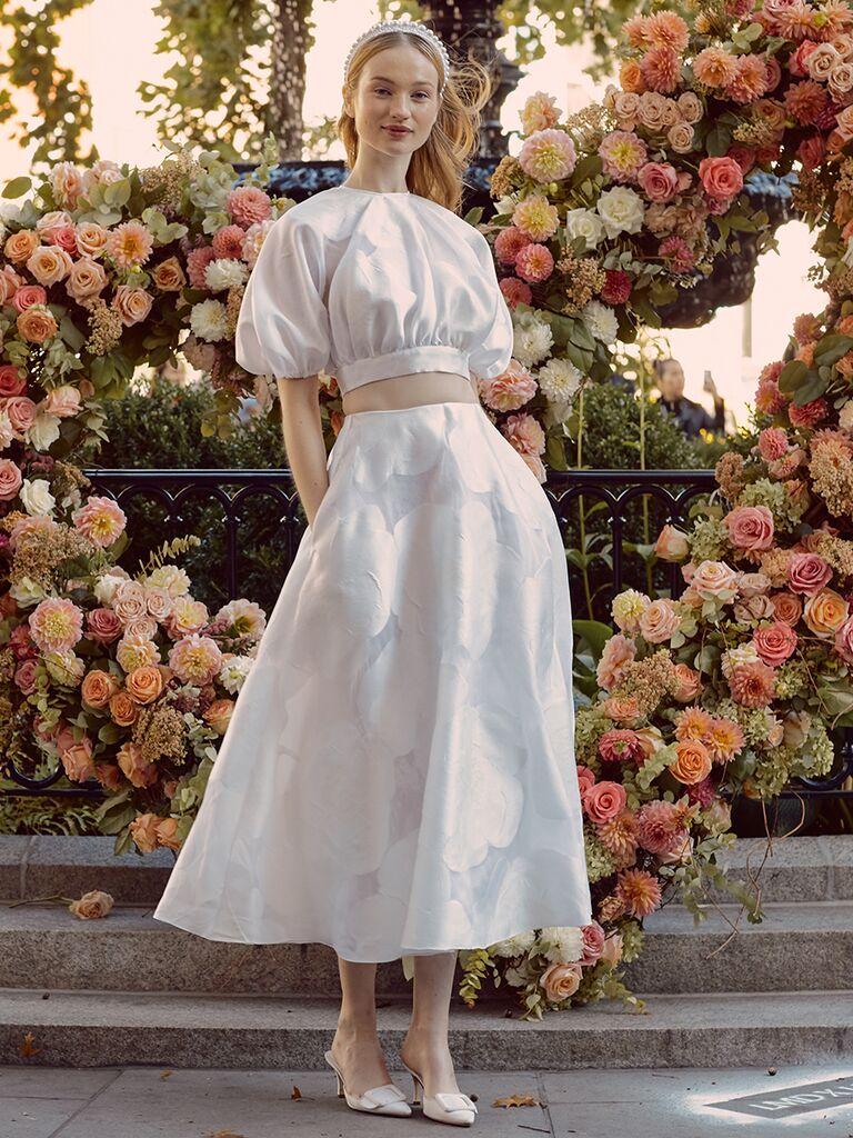 Vintage Two-Piece Wedding Dresses