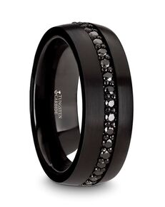 Mens Tungsten Wedding Bands W4471-BTBS Tungsten Wedding Ring