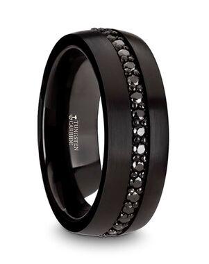 Mens Tungsten Wedding Bands W4471-BTBS Tungsten Wedding Ring