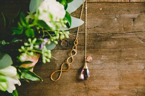 Ametrine Necklace Bridesmaid Jewelry Gift