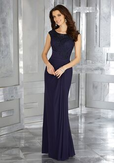 MGNY 71612 Purple Mother Of The Bride Dress