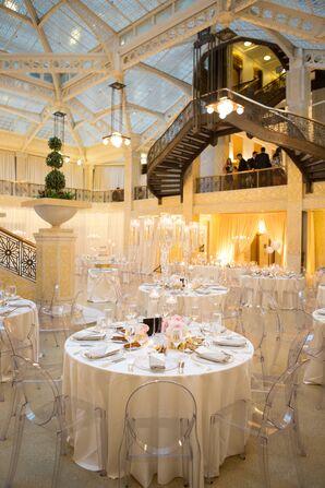 Elegant Wedding Reception at the Rookery