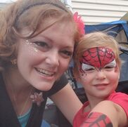 North Charleston, SC Body Painting | Brilliant Faces face painting