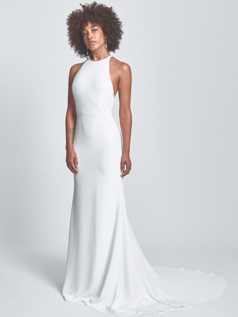 Alexandra Grecco Column Wedding Dress