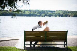 Allison and Reid on Cazenovia Lake