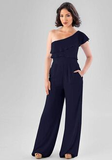 Kennedy Blue Aurora One Shoulder Bridesmaid Dress