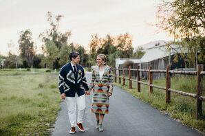 Bohemian Couple at Caravan Outpost in Ojai, California