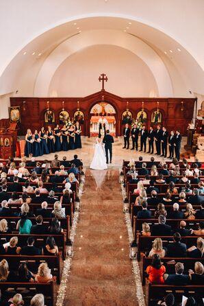 Classic Ceremony at St. George Greek Orthodox Church in Manhattan