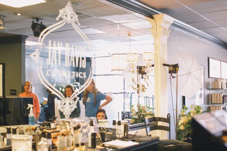Makeup at Blush Hair and Makeup Salon