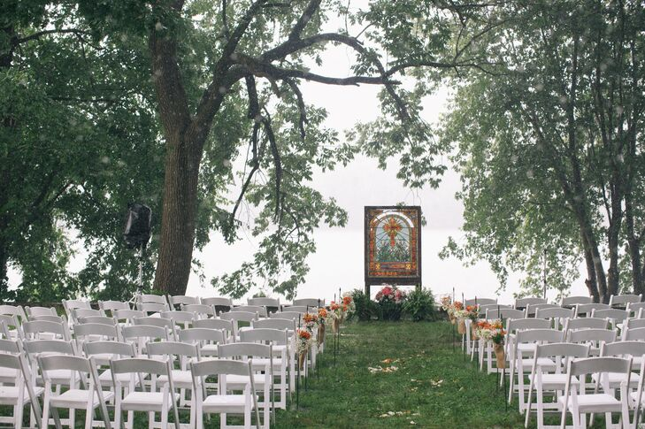 Waterfront Ceremony in Titusville, New Jersey