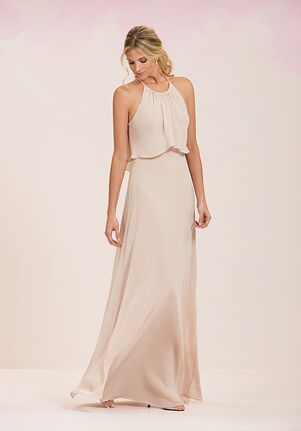 JASMINE P186051 Halter Bridesmaid Dress