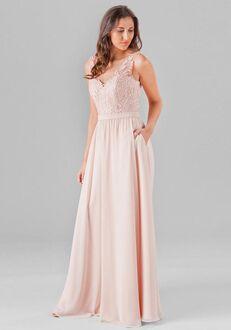 Kennedy Blue Wren V-Neck Bridesmaid Dress