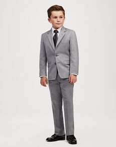 Jos. A. Bank Joseph & Feiss Boys' Suit - Grey Suit Grey Tuxedo