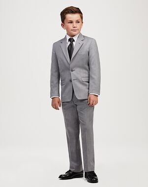 Jos. A. Bank Joseph & Feiss Boys' Suit - Grey Suit Grey Tuxedo