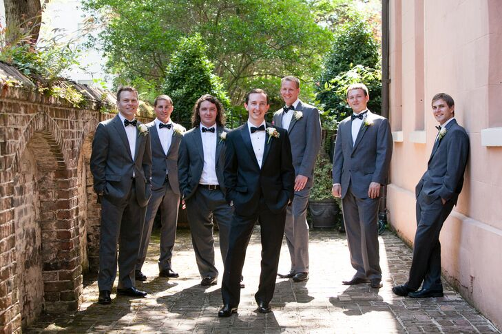Traditional Black and Gray Tuxedos