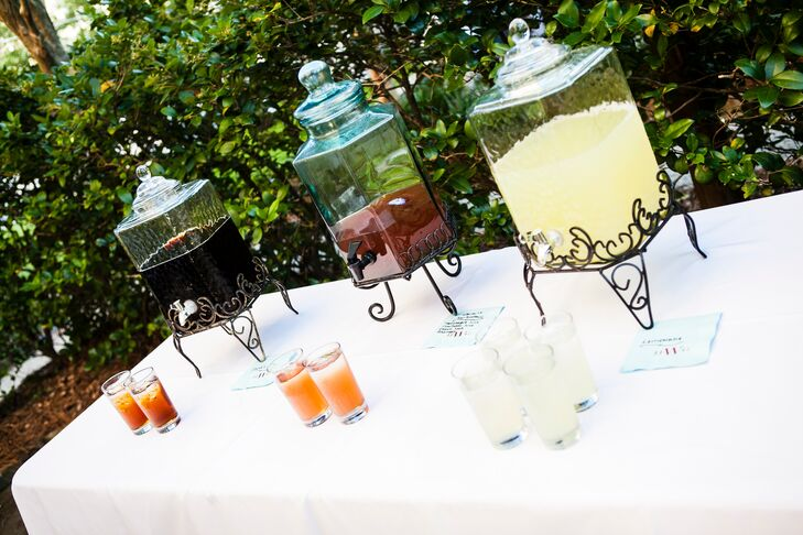 Non-Alcoholic Cocktail Hour Drinks