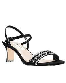 Nina Bridal Noga_Black Black Shoe