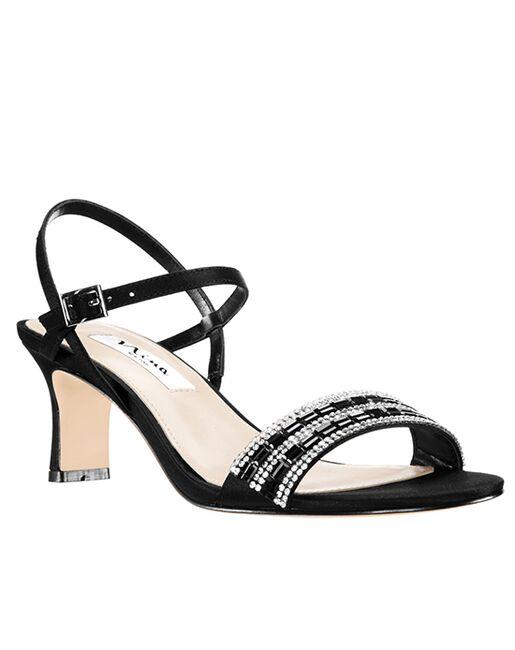 Nina Bridal Noga_Black Black Shoe