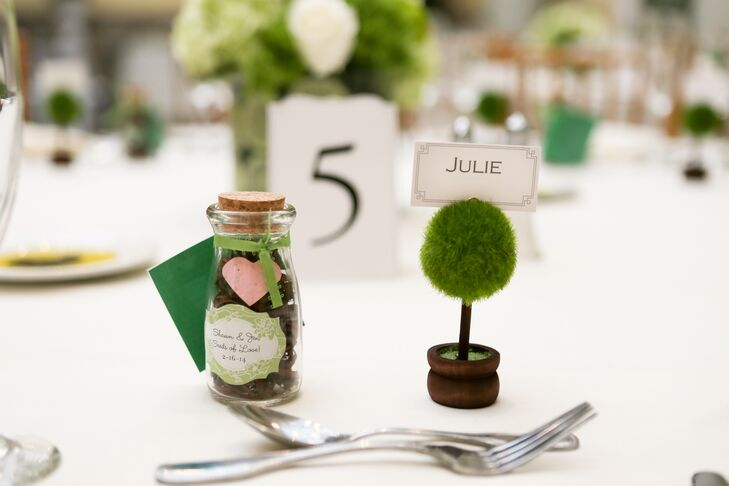 Wildflower Seed and Dianthus Wedding Favors
