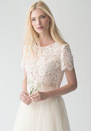 Jenny Yoo Collection (Maids) Kenzie Top {Ivory} #L1761 Bateau Bridesmaid Dress