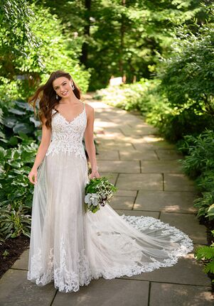 Essense of Australia D3103 A-Line Wedding Dress