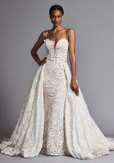 Pnina Tornai for Kleinfeld 4572 Sheath Wedding Dress