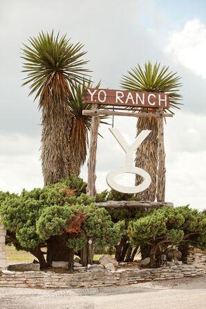 Y.O. Ranch in Kerrville, Texas Wedding Venue