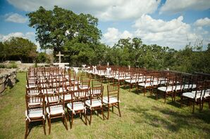 Outdoor Ceremony at Y.O. Ranch in Kerrville, Texas