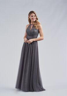 Belsoie Bridesmaids by Jasmine L214061 Halter Bridesmaid Dress
