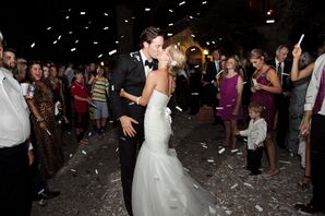 White Confetti Exit from Y.O. Ranch in Kerrville, Texas