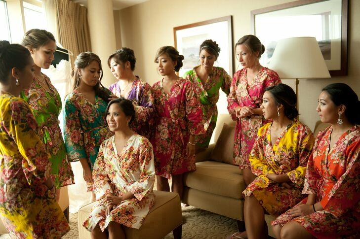 Bridal Party Prep