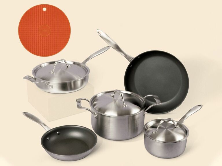 pots and pans useful gift for husband