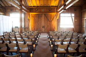 A Rustic, Indoor Reception at Devil's Thumb Ranch