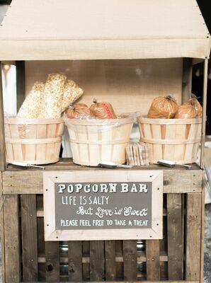 DIY Popcorn Bar Favors
