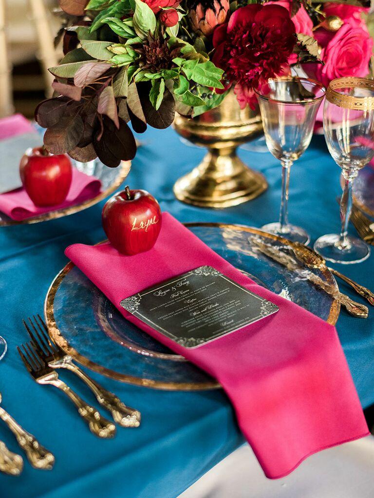 Disney Wedding Reception Ideas Snow White