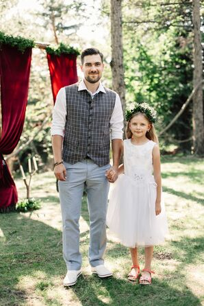 Bohemian Wedding, Flower Girl