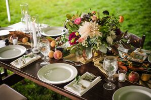 Bohemian Still Life-Inspired Centerpieces