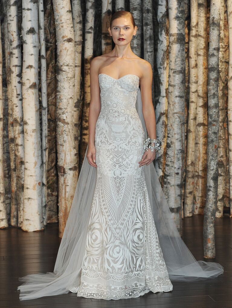 New wedding dress trend leaves little to the imagination - Houston ...
