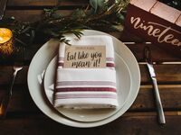 Thanksgiving wedding menu ideas
