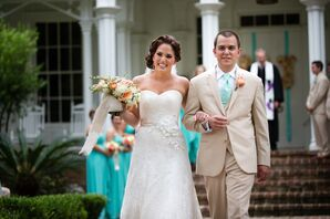 Sassi Holford Strapless Wedding Dress
