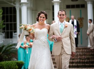 Madeline Brumfield (25 and a physical therapist) and Joe Powell (27 and a field service manager) knew they wanted to have a destination wedding, and S