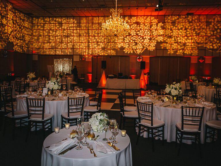 Library wedding venue in Boston, Massachusetts.